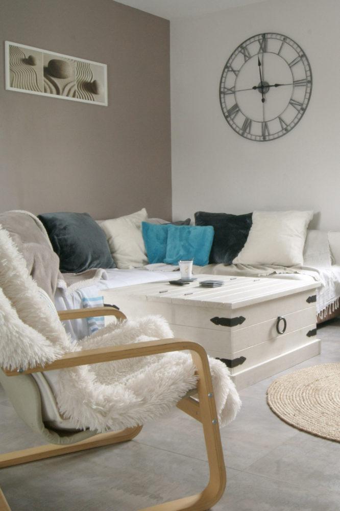 Décoration intérieur séjour salon
