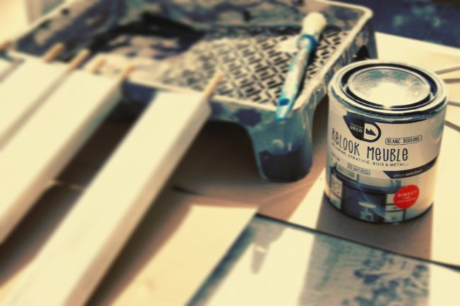 Upcycling peinture Decoratrice Intérieure