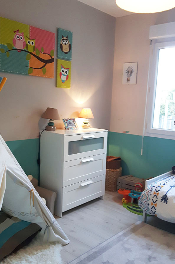 Décoration chambre garçon Leslie Leder