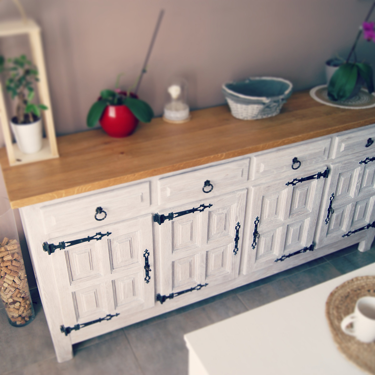 buffet fini Upcycling-meuble-Montpellier