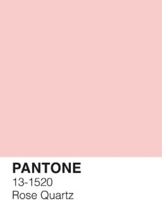 rose quartz pantone